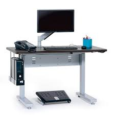 Anthro Sit Stand Desk Anthro Elevate Sit Stand Desk 60 Inches Maple Mvbd60ss Mp Ergo