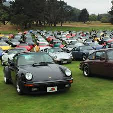 porsche california werks reunion at rancho canada monterey car week california