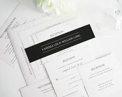 Traditional Wedding Invitations Traditional Wedding Invitations In Black And White U2013 Wedding