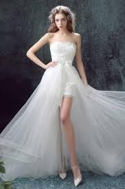 robe mariã e courte robe de mariée en dentelle avec conception originale persun