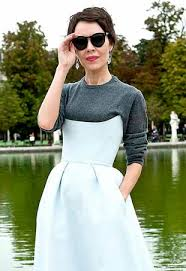 a guide to wearing shirts under dresses this season thefashionspot