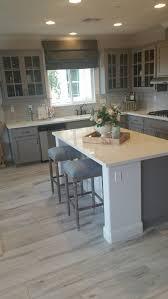 gray washed wood tile best cabinet decoration