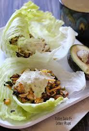 skinnytaste turkey santa fe lettuce wraps sanwiches and