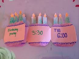 Beautiful Invitation Card How To Make A Folding Birthday Party Invitation Card Youtube