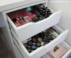 my new ikea makeup vanity diy style peek u0026 ponder