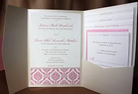 pocket folds wedding invitations pocket envelopes 100 images wedding