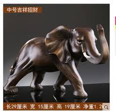 crafts asian folk elephant zodiac gifts statue lucky elephant