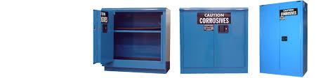 corrosive u0026 acid storage cabinets osha u0026 nfpa code 30 compliant