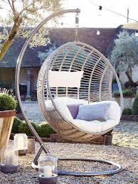 chaise suspendu fauteuil suspendu jardin 34 idées d aménagement extérieur