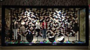 aritzia multi store window displays study