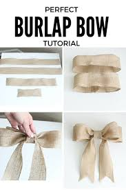 Ribbon Decoration Pinterest Best 25 Burlap Ribbon Crafts Ideas On Pinterest Burlap Ribbon