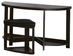 Half Moon Accent Table Half Moon Sofa Table Centerfieldbar Com