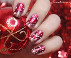 je vous présente un nail art merry christmas réalisé à l u0027occasion