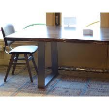 live edge computer desk live edge slab dining table 84 khazana home austin furniture store