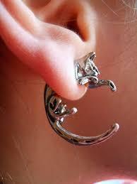 cat earrings cat earrings www catobsession cat jewelry