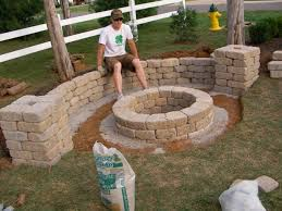Build A Backyard Fire Pit by How To Build A Simple Fire Pit Fire Pit Ideas