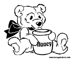 honey pot coloring page free bumble bee pages and beehive