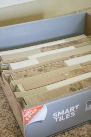 how to diy a smart tiles backsplash in less than an hour