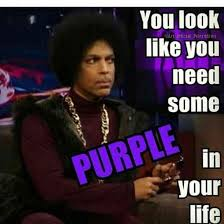 Celebration Meme - 14 best purple quotes memes in celebration of pantone s 2018 color