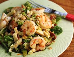 Bacon Main Dishes - the perfect pantry brussels sprouts bacon and greens salad with
