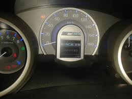 change dashboard language in honda fit 2012 motor vehicle