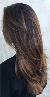 pretty v cut hairs styles long layered hairstyles in diffrent style like v shaped end curls
