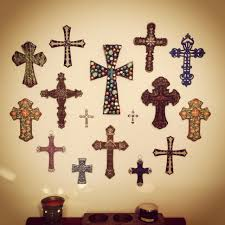 wall crosses cross wall dining room home interior cross walls