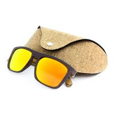 recycled wood sunglasses with different kinds of styles