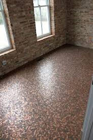 cheap bathroom flooring ideas floor diy affordable floor copper bathroom copper floor