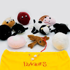 passover plague toys passover plagues set the dreidel company