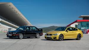 Bmw M3 2015 - 2015 bmw m4 with bmw m3 e30 front three quarters 03 photo
