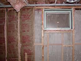 insulation for basement walls basements ideas
