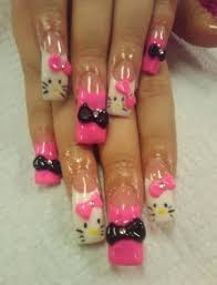 hello kitty nail designs nail designs