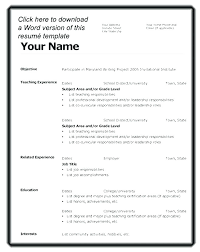 resume format on microsoft word 2010 resume templates for word 2010 free downloadable best of format