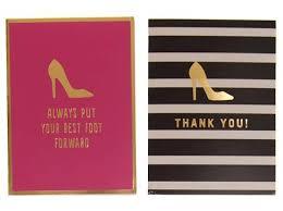 tri coastal design shoe note cards boxed set 50 cards hers
