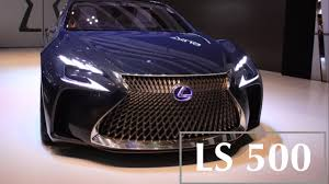 lexus sedan 2018 lexus ls 500 luxury car best sedan in the world youtube