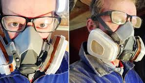 ventilation mask for painting yacht refit tools testing dust masks