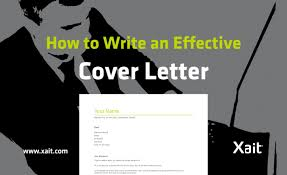 how to write effective cover letter 28 images how to write an