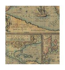 map wrapping paper roll map wrapping paper ebay