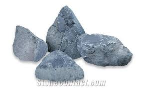 bardiglio azzurro ornamental rock blue marble garden rocks from