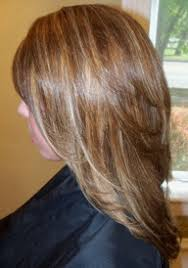 highlights and lowlights for gray hair photos of real hair behind my chair with a brief description of my