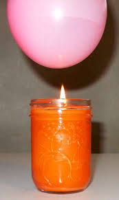 candle balloon heat conduction with water balloon and candle