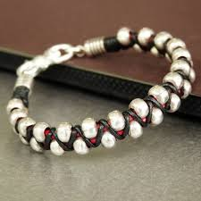 leather bracelet with silver beads images 139 best men 39 s bracelets images beaded bracelets jpg