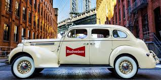 classic cars why budweiser is teaming up with lyft to deploy a fleet of classic