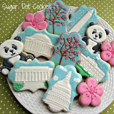 decorated cookies sugar dot cookies favors gifts middletown md weddingwire