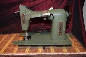 antique vintage dressmaster white sewing machine model e 6354
