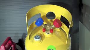 commisioning a new refrigerant refrigerant recovery cylinder youtube