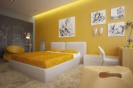 Yellow Bedroom Chair Design Ideas Gray And Yellow Bedroom Pinterest Teenage Girl Room Decor Round