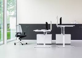 Height Adjustable Meeting Table Height Adjustable Standing Desk Work Spaces That Work
