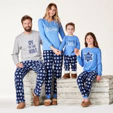 famjams hanukkah family pajama set s jcpenney